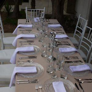 Mesa para matrimonio
