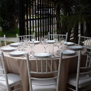Alquiler de Mesas para Matrimonio